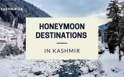 7 Best Honeymoon Destinations in Jammu and Kashmir, 2021